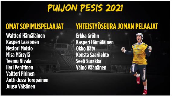 Ykköspesis 2021
